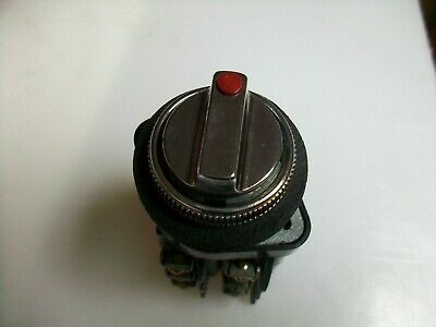 Westinghouse 3 Position Selector Switch With 3 Contact Blocks