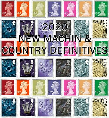 GB NEW 2020 DEFINITIVES (Multiple Listing) PRE-ORDER 17/03/2020 Unmounted Mint