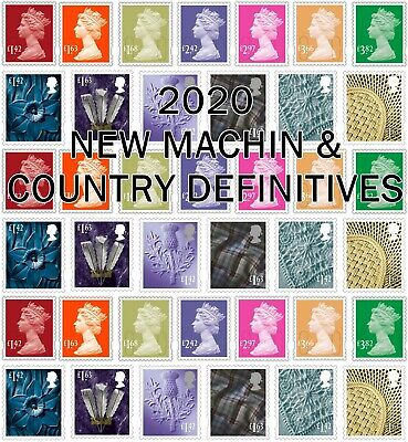 GB NEW 2020 DEFINITIVES (Multiple Listing)  Unmounted Mint