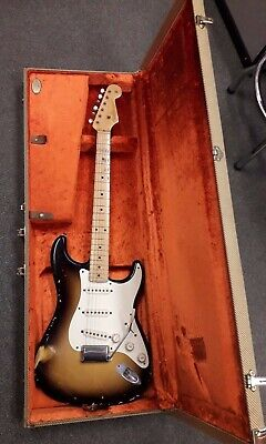 Fender Custom Shop '56 Relic Stratocaster electric guitar, 2 colour sunburst