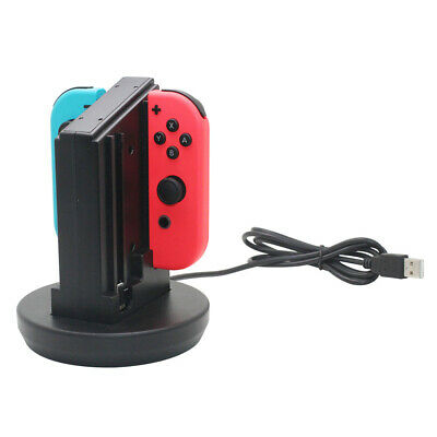 Joy-Con 4-Controllers Charging Dock Desktop Charger for Nintendo Switch AC761