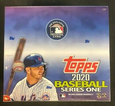 2020 Topps Series 1 Baseball 24ct Retail Box sealed IN STOCK!!!