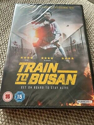 Train to Busan (DVD, 2017) Brilliant Zombie Movie Sealed Brand New
