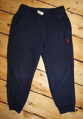 Boys Authentic Polo Ralph Lauren Navy Jogging Bottoms / Pants 2 - 3 Years