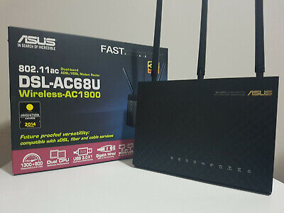 ASUS DSL-AC68U Wireless Modem Router in Excellent Working Condition!