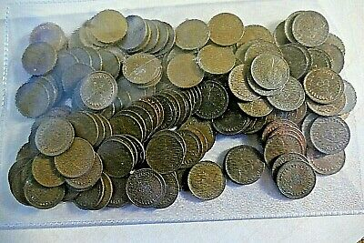 Decimal 1/2p Half Penny ~ Approx 290 Grams ~ Job Lot ~ Uncleaned ~ Various Dates