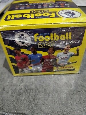 BN Panini Premier League Football 2020 Stickers.  Sealed Box 100 Packets