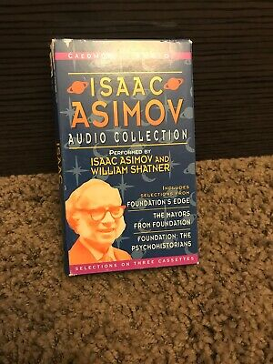 ISAAC ASIMOV AUDIO COLLECTION  william shatner   CASSETTE TAPE