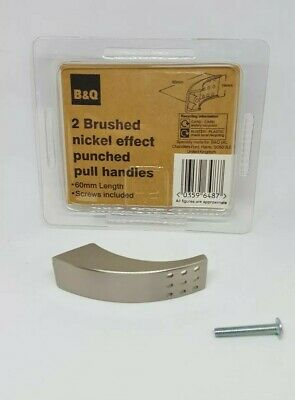 B/&Q brushed nickel effect wire D handles 298mm kitchen//bathroom cabinets