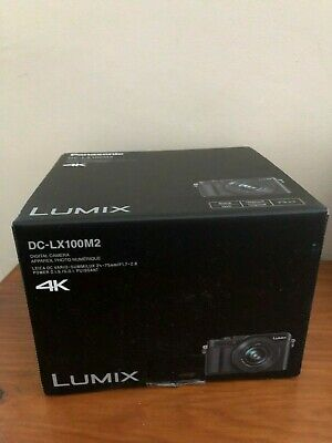New & SEALED Panasonic DC LX100M2 EB Lumix 4k - UK MODEL - RRP £800