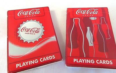 A8 Coca-Cola Playing Cards Two Decks Different Designs