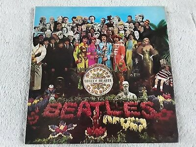 THE BEATLES - Sgt PEPPERS LONELY HEARTS CLUB BAND. 1967. STEREO. EX/EX.