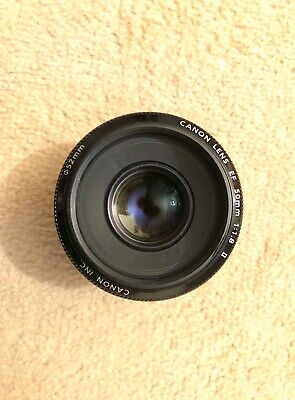 Canon EF 50mm F1.8 ii STM Lens With Polarising Filter