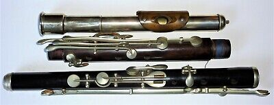 German Wooden Flute keyed to low B