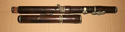 Old 4 keyed rosewood flute 5 sections