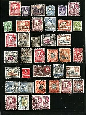 Selection Of British Colonial Stamps