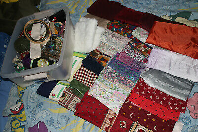 Huge Lot of CRAFT SUPPLIES Big Variety New and Vintage