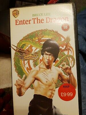 Enter the Dragon VHS Video
