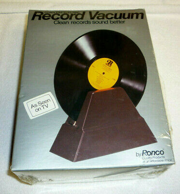 New Old Stock 1979 SEALED VINYL RECORD VACUUM by RONCO!