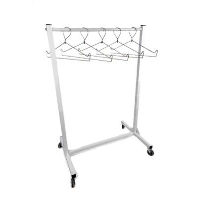 """Mobile X-Ray Apron Rack, 36"""" Wide"""