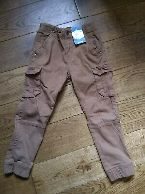 Fabulous Little Boy Jean Trousers, Tu (Sainsbury's), 5yrs, Brown, BNWT