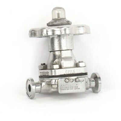 "ITT 1/2"" Forged 316L Stainless Steel Diaphragm Valve"