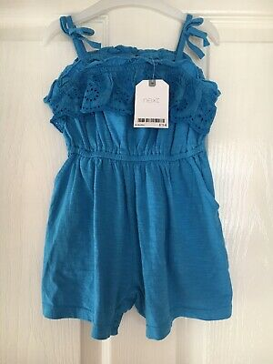 Next Baby Girls Age 6-9 Months Shorts Playsuit/romper Bnwt