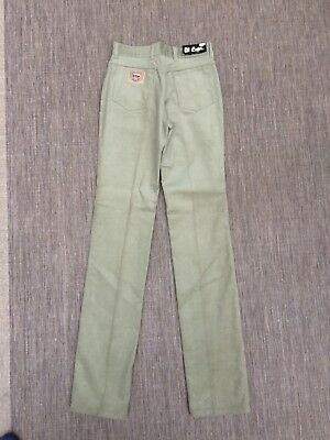 "Kids Lee Cooper Corduroy Trousers New With Tags Straight Leg Waist 27"" Jeans"