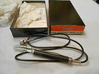 Simpson No. 0073 High Frequency Probe For Model 303 Vacuum Tube Voltmeter