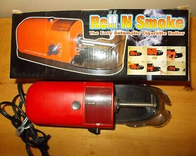 Roll N Smoke  Easy Automatic Cigarette Roller, Perfect Electric  Roller