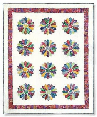 *Pretty Plates Quilt quilting pattern instructions