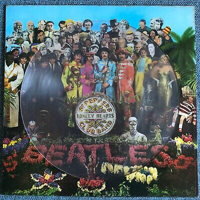 Beatles: 'Sgt. Pepper's Lonely Hearts Club Band' Picture Disc [limited 1979 ed.]