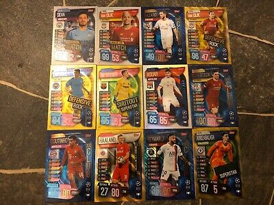 Match Attax Extra 2019/20 Pick Your 100 Club/Defensive Rock/Mvp/Record Holder