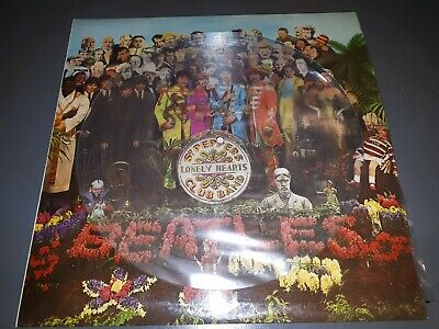 Rare The Beatles Picture Disc Lp Vinyl Record Sgt. Peppers Limited Edition N/M