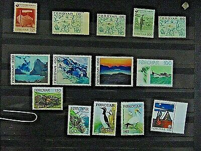 A Beautiful Selection Of Stamps From Foroyar 632