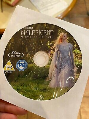 Maleficent:Mistress Of Evil (Blu-ray)2019 Disc Only! Nothing Else! REGION FREE!