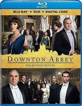 Downton Abbey (Movie, 2019) (Blu-ray + DVD + Digital) NEW w/SLIP