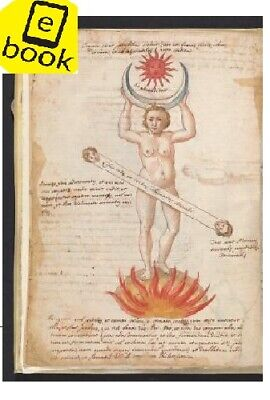 Collection of alchemical manuscripts, around 1500 (2 books) Antique book