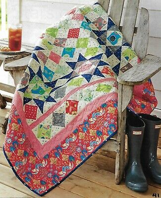 Stars of Summer Quilt quilting pattern instructions