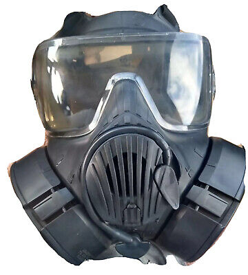 AVON FM50 NBC Respirator/US Military NBC Gas Mask + New Filters Sealed N Package