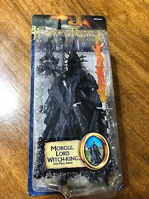Lord Of The Rings action figure Morgul Lord Witch-King with Fiery Sword Toybiz