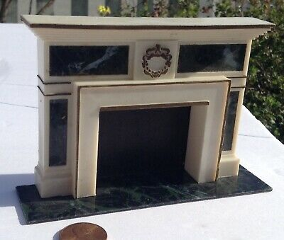 Vintage Ideal 1964 Petite Princess Regency Fireplace Dollhouse Furniture