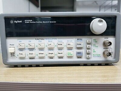 Agilent/HP Agilent 33120A 15MHz Function/Arbitrary Waveform Generator