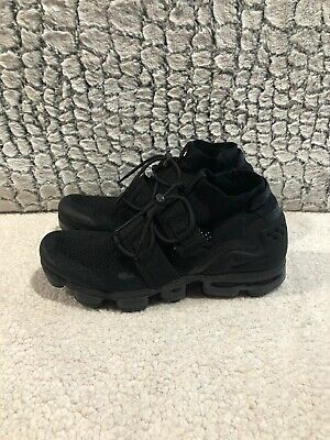 Nike Air VaporMax Utility FlyKnit Triple Black Men's 11.5 AH6834-001 Black/Black