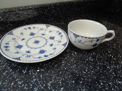Johnson Brothers Blue Denmark Side Plate And Cup - Spares