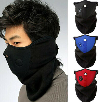Unisex Skiing Sport Outdoor Camping Bike Filter Super Anti-Dust Half Face cover