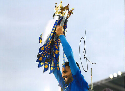 Riyad Mahrez Leicester City 16x12 in hand signed authentic football photo SS241C