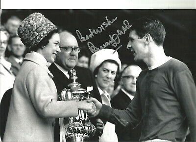 Brian Labone Everton 12 x 8 inch hand signed authentic football photo SS232