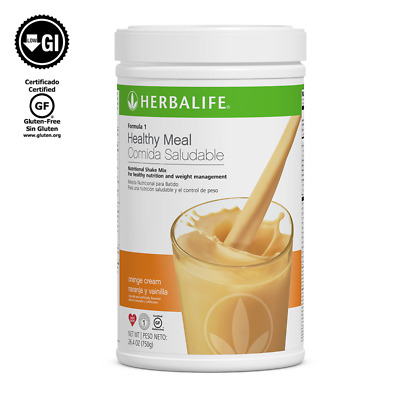 **HOT** HERBALIFE FORMULA 1 HEALTHY MEAL SHAKE MIX 750g (ALL FLAVORS AVAILABLE)
