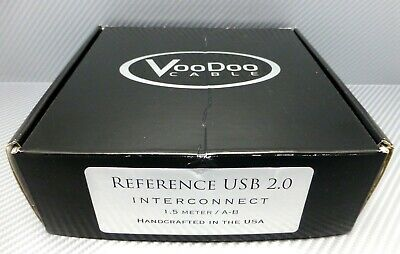 VooDoo Cable Reference USB 2.0 Digital Interconnect cable 1.5 meter